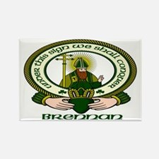 Brennan Clan Motto Rectangle Magnet (10 pack)