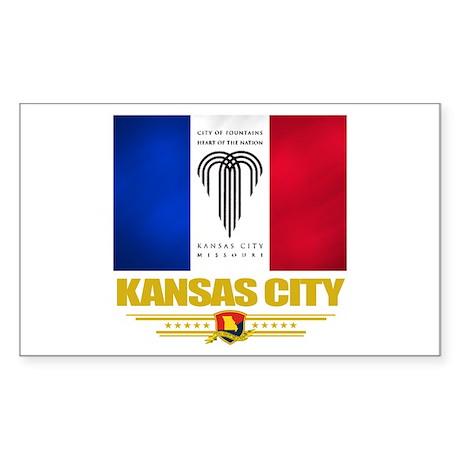 Kansas City Pride Sticker (Rectangle)
