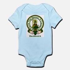 Broderick Clan Motto Infant Bodysuit