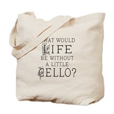 Funny Cello Tote Bag