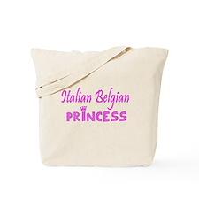 Italian Belgian Princess Tote Bag