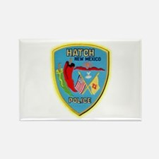 Hatch New Mexico Police Rectangle Magnet