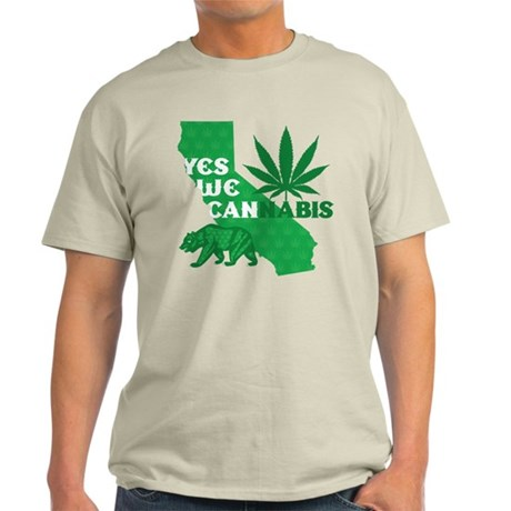 Yes We Can-nabis California Light T-Shirt