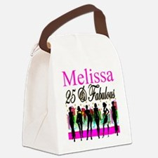 FASHIONABLE 25TH Canvas Lunch Bag
