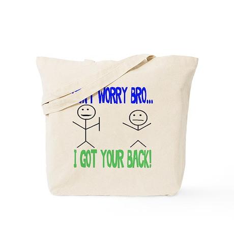 Funny Got Your Back Tote Bag