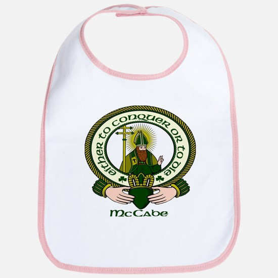 McCabe Clan Motto Bib
