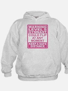 Warning Gymnast May Flip Hoodie