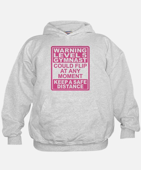 Warning Gymnast May Flip Hoodie