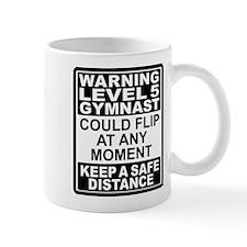 Warning Gymnast May Flip Mug