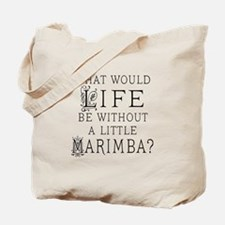 Marimba Quote Tote Bag