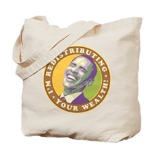 Laughing Obama Tote Bag