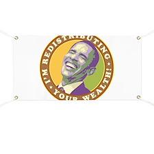 Laughing Obama Banner