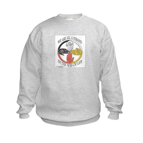 Web of Life Logo Kids Sweatshirt
