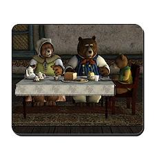 Three Bears Mousepad