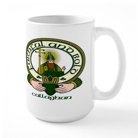 Callaghan Clan Motto Large Mug