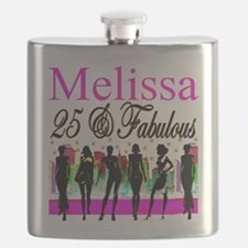 FASHIONABLE 25TH Flask