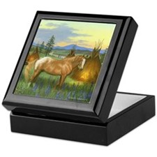 Appaloosa Sunset Keepsake Box