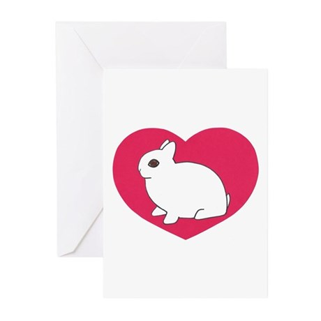 I Love My Dwarf Hotot Greeting Cards (Pk of 20)