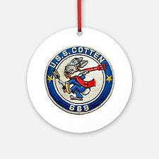 USS COTTEN Ornament (Round)