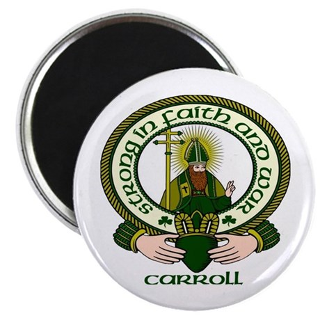 """Carroll Clan Motto 2.25"""" Magnet (10 pack)"""