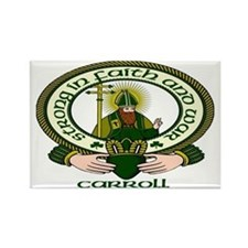 Carroll Clan Motto Rectangle Magnet (10 pack)