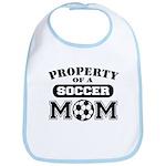 Property of a Soccer Mom Bib