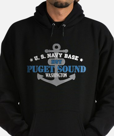 US Navy Puget Sound Base Hoodie (dark)