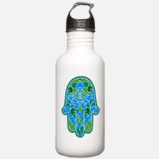 Artsy Hamsa Water Bottle