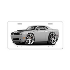Hurst Challenger Silver Car Aluminum License Plate
