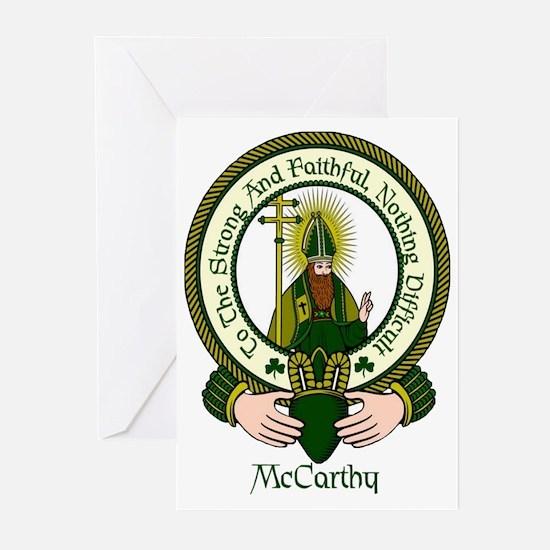 McCarthy Clan Motto Greeting Cards (Pk of 10)