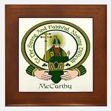 McCarthy Clan Motto Framed Tile
