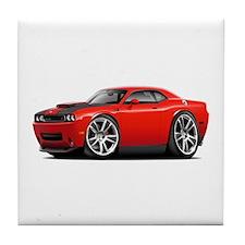 Hurst Challenger Red Car Tile Coaster
