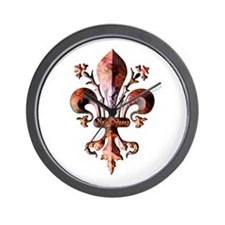 Colorful Antique New Orleans Wall Clock