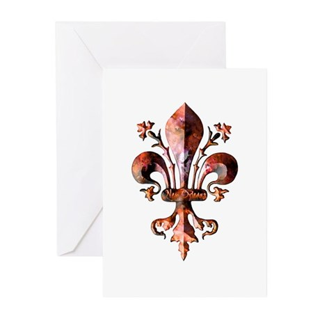 Colorful Antique New Orleans Greeting Cards (Pack