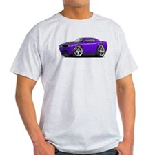Hurst Challenger Purple Car T-Shirt