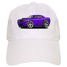 Hurst Challenger Purple Car Baseball Cap