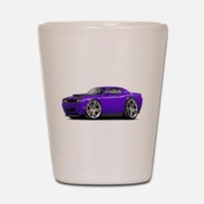 Hurst Challenger Purple Car Shot Glass