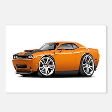 Hurst Challenger Orange Car Postcards (Package of