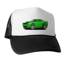 Hurst Challenger Lime Car Trucker Hat