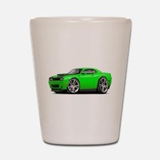 Hurst Challenger Lime Car Shot Glass