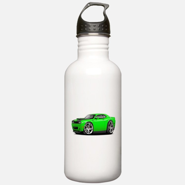 Hurst Challenger Lime Car Water Bottle