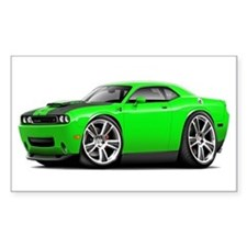 Hurst Challenger Lime Car Decal