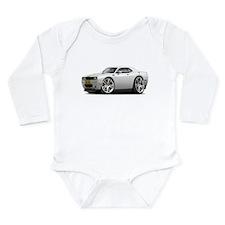 Hurst Challenger White-Gold Car Long Sleeve Infant