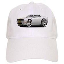 Hurst Challenger White-Gold Car Baseball Cap