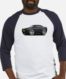 Hurst Challenger Black-Gold Car Baseball Jersey