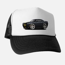 Hurst Challenger Black-Gold Car Trucker Hat
