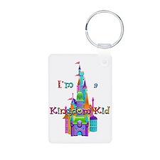 Kingdom Kid w/ Castle Image Keychains