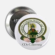 "McCartney Clan Motto 2.25"" Button (10 pack)"