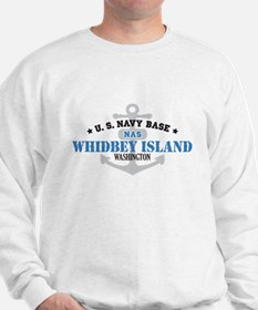 US Navy Whidbey Island Base Sweatshirt