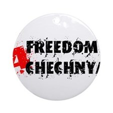 Freedom 4 Chechnya Ornament (Round)